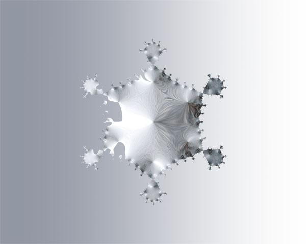 snowflake fractal снежинка фрактал