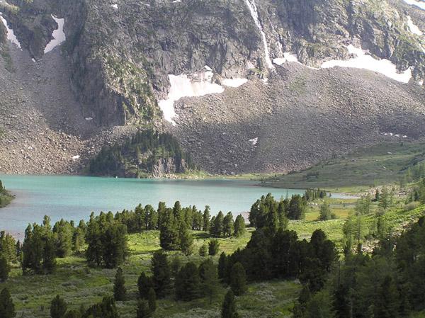Алтай Крепкое озеро