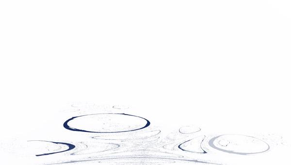 лужа + дождь фрактал